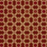 Brown-Weinlese-nahtloses Muster Stockfotografie