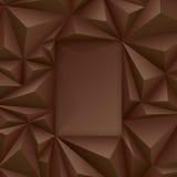 Brown wektorowy geometryczny tło ilustracja wektor