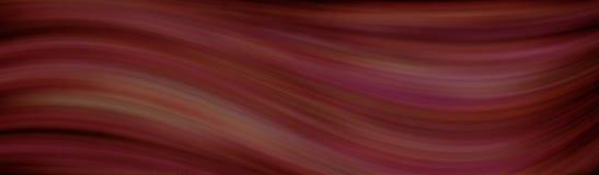 Brown-Wellenkonzepthintergrund stock abbildung