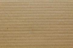 Brown-Wellpappe als Hintergrund Lizenzfreies Stockbild