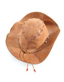 Brown western hat Stock Images