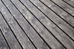 Brown wet wooden pier floor background texture Stock Photo