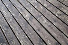 Brown wet wooden pier floor background texture Stock Photo