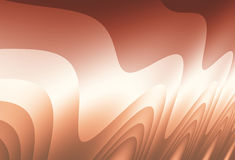 Brown and white abstract irregular wavy fractal resembling hair Stock Photography