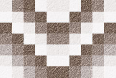 Brown And White Blocks Pattern Abstract Background Seamless Royalty Free Stock Image