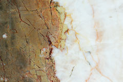 Brown and white marble texture background Stock Images