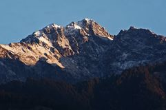 Brown and White Mountain Under Clear Sky Stock Photo