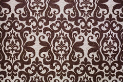 Brown and white patterns. Traditional bouquet style marbling as seen in exotic fabrics, papers and book bindings Royalty Free Stock Image