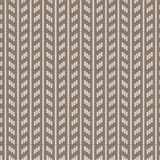 Brown and white rectangle vertical striped knitting pattern back Royalty Free Stock Photo