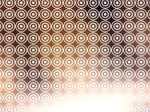 Brown White Retro Wallpaper Stock Images