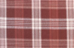 Brown and white tablecloth as background Stock Photos