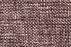 Brown and white textile background closeup. Structure of the fabric macro Stock Image