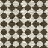 Brown and white tiles Royalty Free Stock Image
