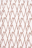 Brown and white zig zag abstract Royalty Free Stock Images