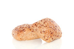 Brown Wholemeal Rolls Stock Photography