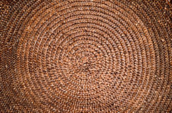 Brown wicker. For Background purpose Stock Photos
