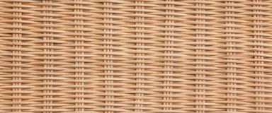 Brown Wicker Rattan Texture Background Royalty Free Stock Photos