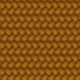 Brown Wicker Seamless Pattern royalty free illustration
