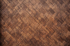 Brown wicker texture Royalty Free Stock Images