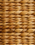 Brown wicker texture Stock Photography