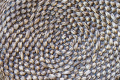 Brown wicker texture background Stock Photography