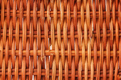 Brown wicker texture Stock Photo
