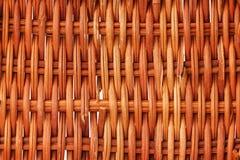 Brown wicker texture Stock Photo