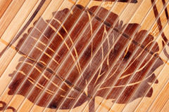 Brown wicker texture Royalty Free Stock Photos