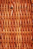 Brown wicker texture Royalty Free Stock Photography