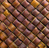 Brown wicker texture Royalty Free Stock Photo