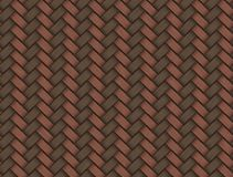 Brown wicker texture used as a background Royalty Free Stock Photos