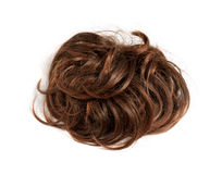 Brown wig Stock Images