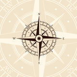 Brown wind rose Royalty Free Stock Photos