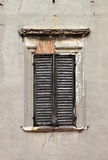 Brown window shutters Royalty Free Stock Photography