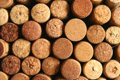 Brown wine corks Stock Photo