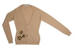 Brown-Wollejacke lizenzfreies stockbild