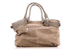 Brown woman bag Royalty Free Stock Photography