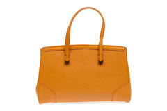 Brown woman handbag Royalty Free Stock Images