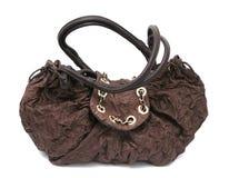Brown women bag royalty free stock photo