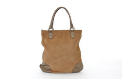 Brown Women leather lbag Stock Photography