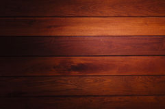 Brown wood background Stock Image