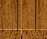 Brown wood background for home. Brown wood wall, interior home design. House texture Stock Photography
