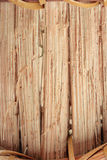 Brown wood basket background Stock Images