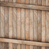 Brown wood box Royalty Free Stock Image