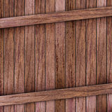Brown wood box Royalty Free Stock Images