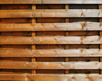 Brown wood fence Royalty Free Stock Photography