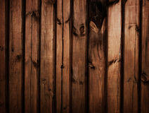 Brown wood fence texture Stock Photos
