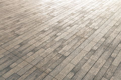 Brown wood flooring Royalty Free Stock Photography