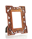 Brown wood frame Stock Photo