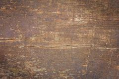 Brown wood grain texture, top view of wooden table. stock photography
